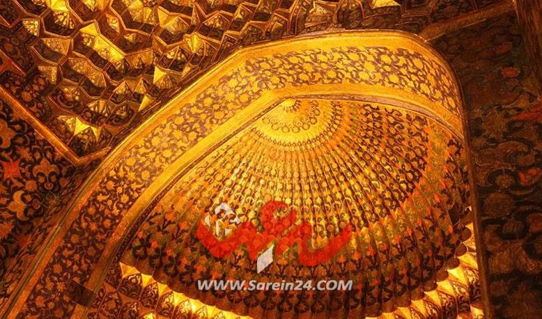 داخل موزه شیخ صفی اردبیل