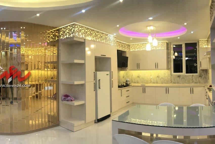 نشیمن-پنت-هاوس-آشپزخانه-آینه-۱۵۳-سرعین۲۴-دات-کام