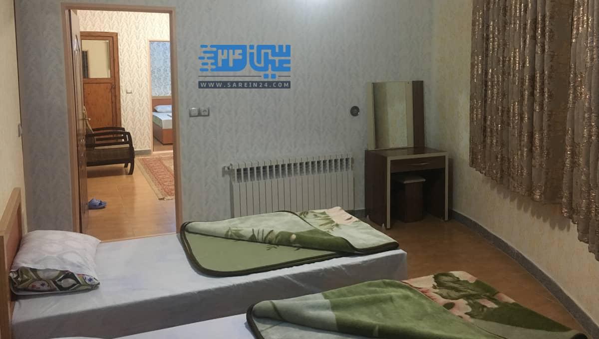اجاره روزانه آپارتمان دو خوابه چهار تخته